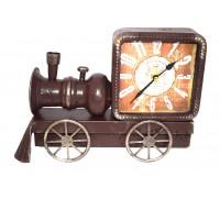 **Locomotiva com relógio 22Cm