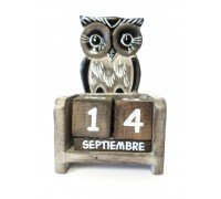 ** Flat Owl Calendar (Includes all months and days of the year)