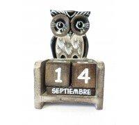 ** Calendrier Owl Plano (Comprend tous les mois et le jour de l'année)