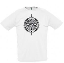 **H-4 Camisa Adulto Yin Yang (Varias Cores)
