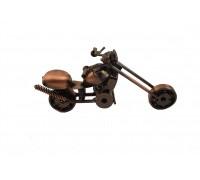 **F0131B-1Moto metalica Harley 15cm
