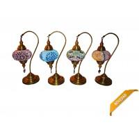 **lampada turco braccio 50cm  (vari colori)