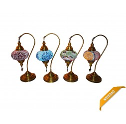 **Lâmpada Turca de Braço Nº3 50cm (varios cores)