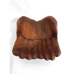 **Bandeja Mãos de Madeira 20cm