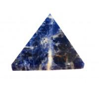 **Pirâmide mineral Sodalita 25mm