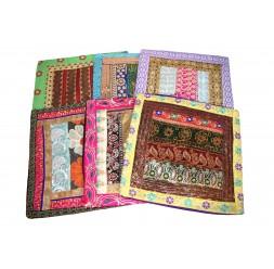 **Cobertura de almofada com brilho (várias cores)