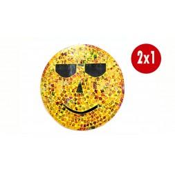 "**2 X 1 Cabide de Parede ""Smile"" 30Ø"