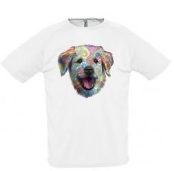 **A-40 Camiseta Dog adulto unissex