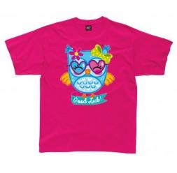 **G-66 Camiseta Good Luck Owl infantil