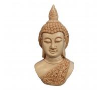 **Busto Buddha branco 26cm