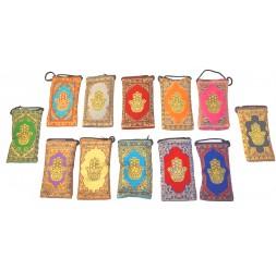 **porte-monnaie arabe je jaillis de fátima (differents couleurs) 15cm x 8cm