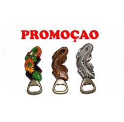 **Abridor (Vários Modelos) Íman gecko madeira