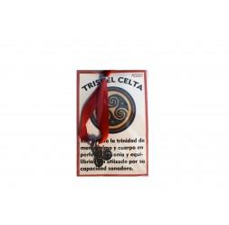 **Braccialetto esoterico laccio di acciaio triskel celta