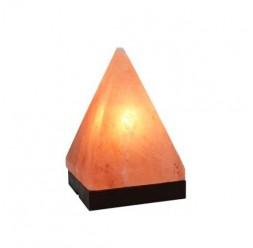 "**Lâmpada 6"" de Sal do Himalaya ""Pirâmide"" grande"