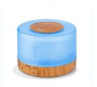 **Humidificador Cube com controle remoto 500ml Luz muda cor