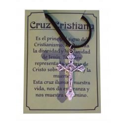 **Collana Cruz Cristiana (lega di Zinco)