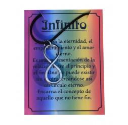 **Collana Infinito (lega di Zinco)