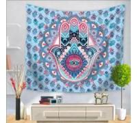**Tapestry Fatima hand blue