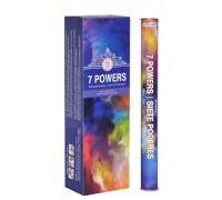 **Caixa Varetas 7 powers Goloka (6 Tubos Cilíndricos)